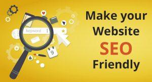 SEO-optimize website