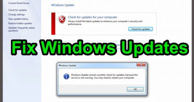 Fix Windows Update Service Could Not Be Stopped Problem