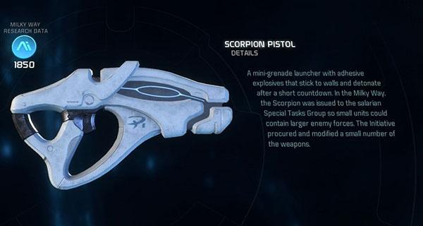 Scorpion-Pistol