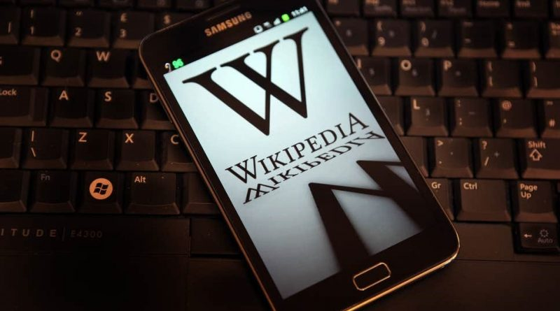 Wikipedia Page featured