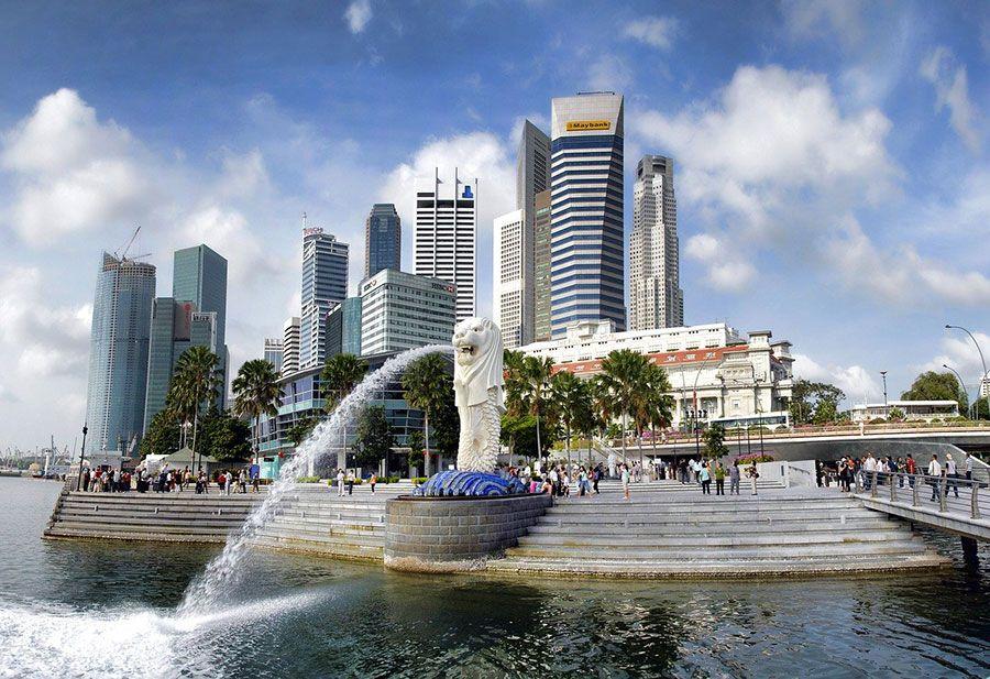 singapore-merlion-park