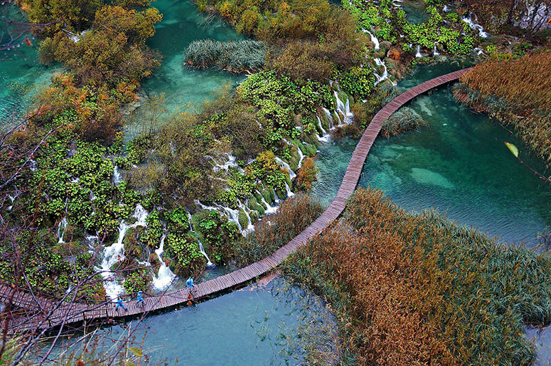 Plitvice-croatia-fall