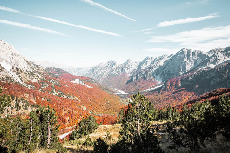 The-Albanian-Alps-autumn