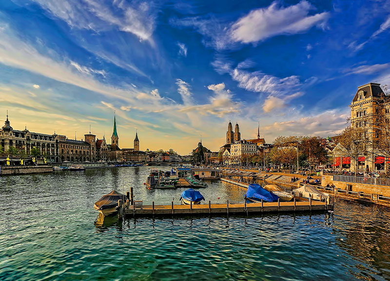 Zurich-Switzerland-autumn