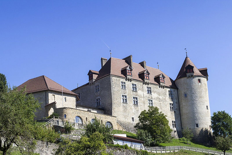 Castle-Gruyère-Switzerland