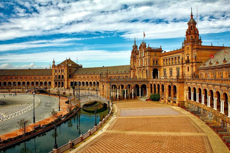 Plaza-Espana-Seville
